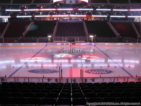 section 6 hockey new jersey devils seating guide prudential center