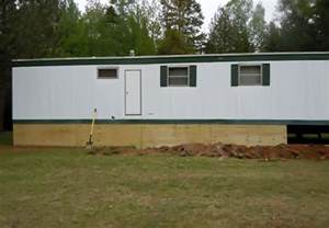 underpinning for mobile homes mobile home skirting ideas