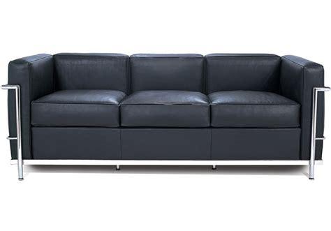 lc2 sofa lc2 dreiersofa cassina milia shop