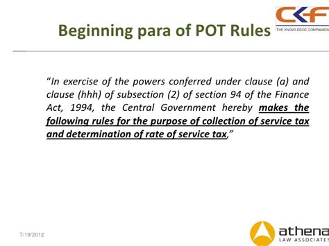 section 94 income tax act changes in cenvat rules and pot rules mr puneet agrawal