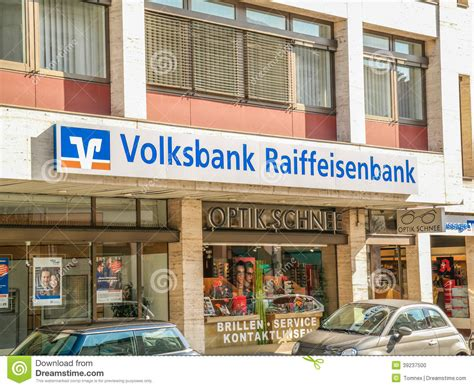 raiffeisen bank germany volksbank raiffeisenbank editorial image image 39237500