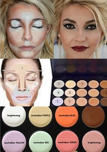 different color concealers how to apply colored concealers flawlessly