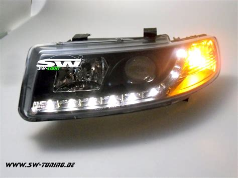 led len kaufen swlight headlights for seat toledo 99 04 led position