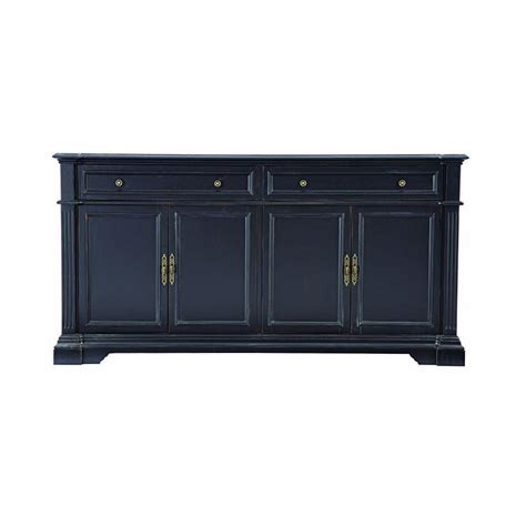 Home Decorators Buffet by Home Decorators Collection Bufford Antique Black Buffet