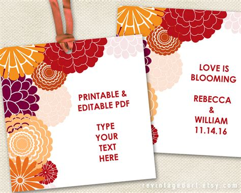 printable labels for your fall food gifts by lia griffith printable floral gift tags autumn tags fall tags autumn