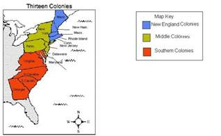 united states 13 colonies map 13 colonies map picture