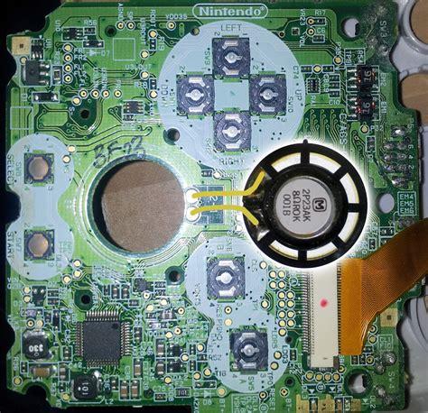 gameboy speaker mod game boy line infopool gameboy advance sp inside dmg