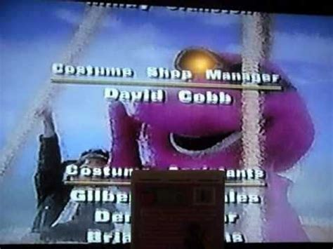 2001 ending song barney friends 1997 2001 end credits doovi