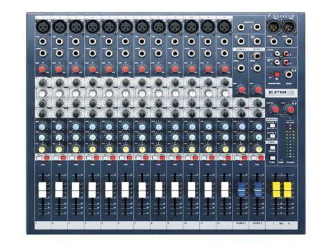 Mixer Cina 12 Chanel epm12 soundcraft professional audio mixers
