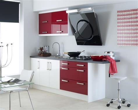 red kitchen design ideas red and white kitchen ideas decobizz com