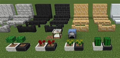 Decorations In Minecraft by Extended Decorations Mod 1 7 10 Minecraft Minecraft