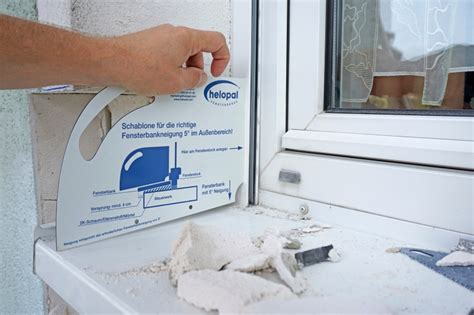 Fensterbank Neigung by 214 Ffnung Eines 20 Jahre Alten Wdvs Aus Multipor Bauhandwerk