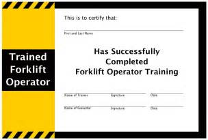 free forklift certification card template forklift certifications bbt