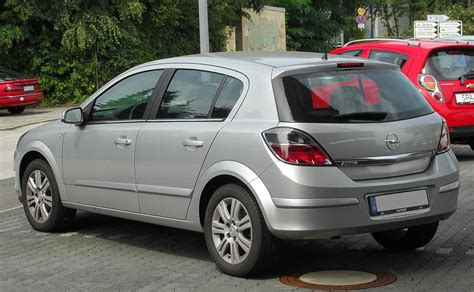Opel Astra H by File Opel Astra H 1 8 Innovation Facelift Rear 1 20100822 Jpg