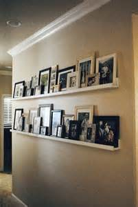 wall picture shelves notes from diy picture ledges