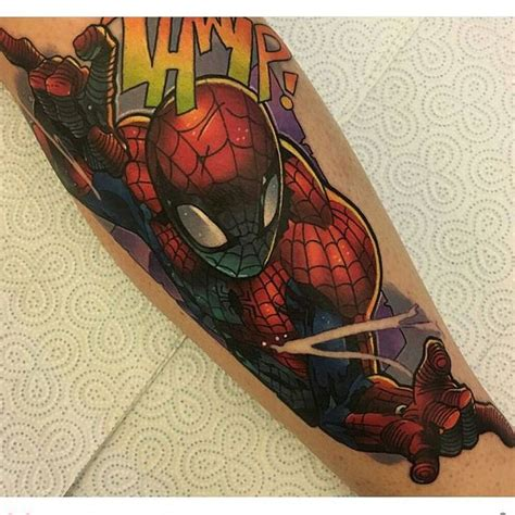 spiderman tattoo designs best 25 ideas on marvel