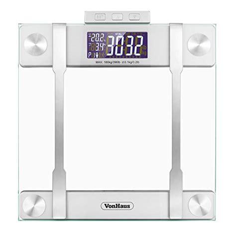 vonhaus electronic bathroom scale 1byone digital smart scale body scale bathroom scale
