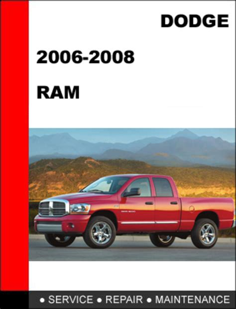 service manual 2006 dodge ram 2500 manual down load service manual chilton car manuals free