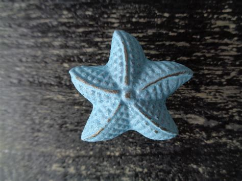Starfish Drawer Knobs by Starfish Knob Furniture Drawer Pull Nautical Cottage