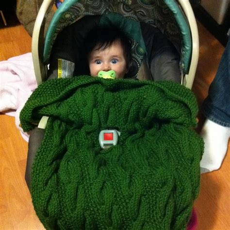 knitted car seat blanket pattern car seat blanket for baby and toddler pdf knitting