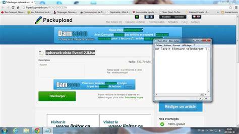 reset vista password using ophcrack ophcrack windows vista password recovery