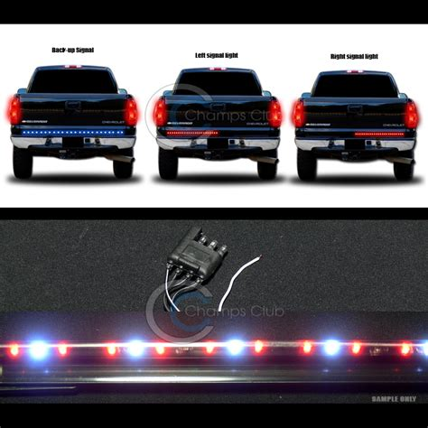 Led Light Bar For Truck Tailgate 60 Quot Universal White Tailgate Led Light Bar Lights Truck Suv Vans Ebay