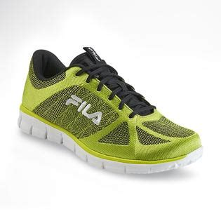 lime green athletic shoes fila s speedweave lime green black performance running