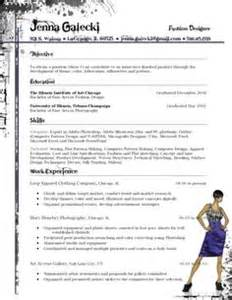 1000 images about fashion resumes on fashion