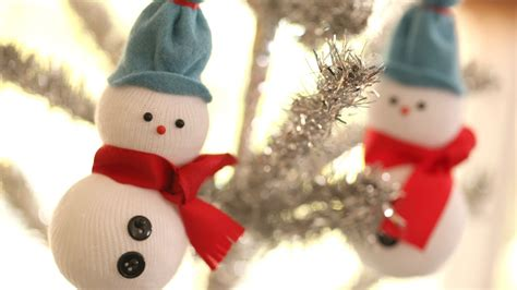 diy snowmen ornaments viyoutube