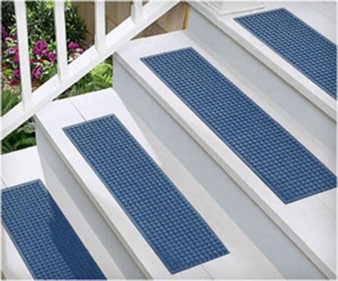 How To Make A New Mat Less Slippery by Make Stairs Less Slippery With Tread Mats