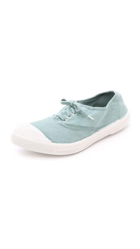 bensimon sneakers bensimon tennis sneakers in blue lyst