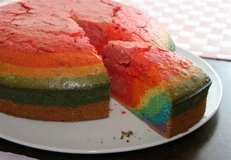 fertig kuchen regenbogenkuchen feiern
