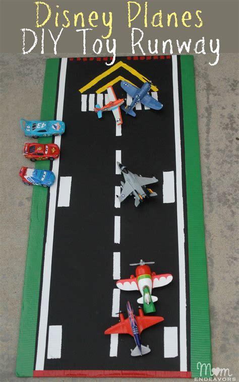 disney planes toys diy play runway worldofcars