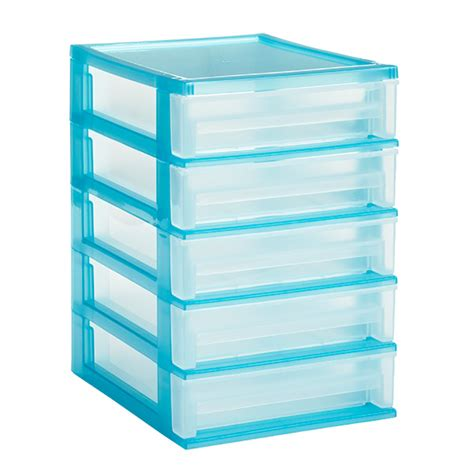 5 Drawer Storage by 5 Drawer Desktop Organizer The Container Store