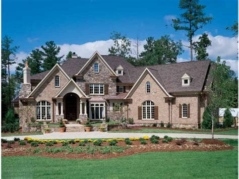 new american house plans home plan homepw12686 4376 square foot 4 bedroom 4
