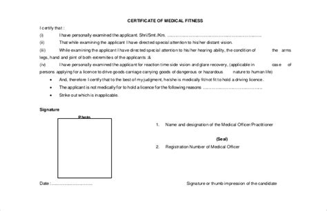 doctor certificate template 25 free word pdf documents