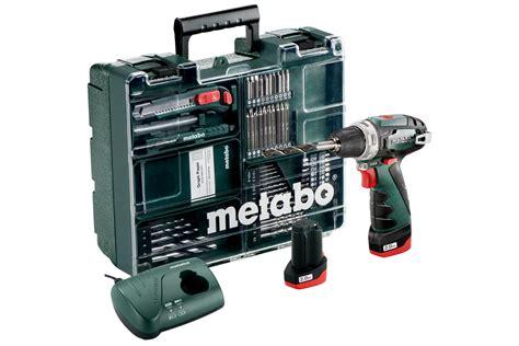 Kunci Socket L 32 Mm Maxpower powermaxx bs basic set 600080880 cordless drill screwdriver metabo power tools