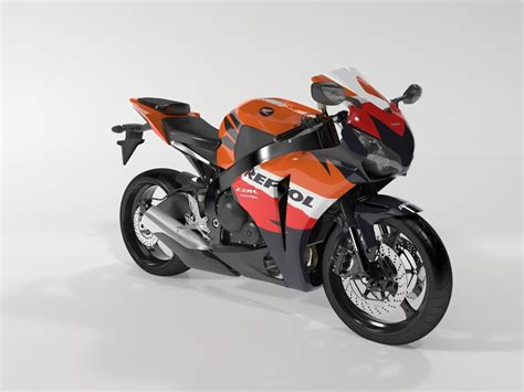 honda cbr models and prices honda cbr 1000 rr 08 3d model max cgtrader com