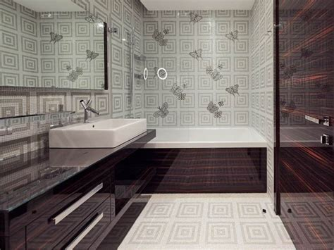 can i wallpaper a bathroom modern wallpaper for bathrooms ideas uk