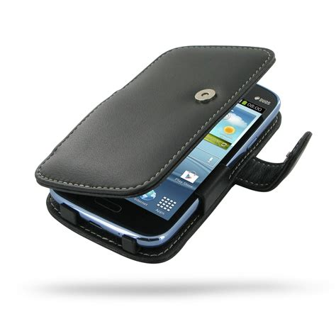 Flipcase Samsung Galaxy Duos I8262 Flipcover Leather Backcase samsung galaxy duos leather flip cover pdair sleeve pouch