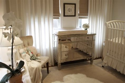 mirrored dresser for baby room baby nursery ideas elegant vintage