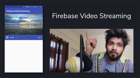 tutorial video streaming android firebase video streaming app android studio