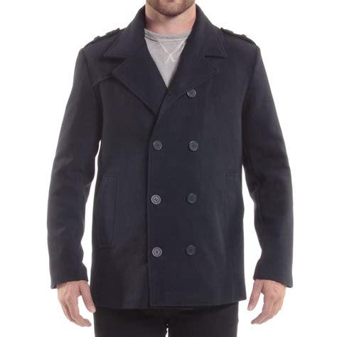 Breasted Wool Jacket alpine swiss jake mens pea coat wool blend breasted