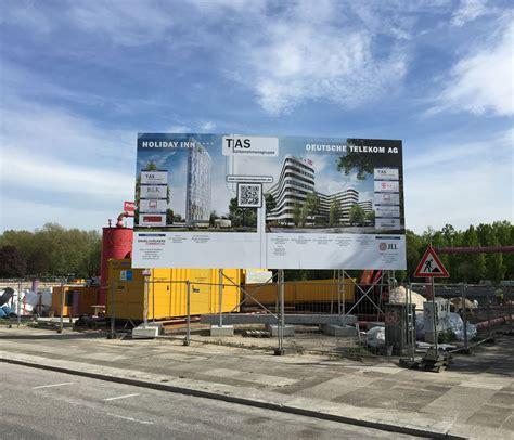 Baustellenschild Hamburg by Bauschildmietsystem Tas Kg Telekom Cus Bauschilder