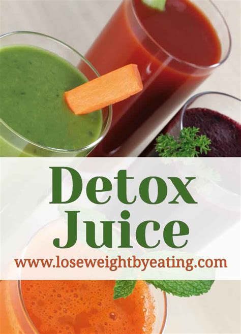 Detox Recipes For Weight Loss by 10 Detox Juice Recipes For A Fast Weight Loss Cleanse
