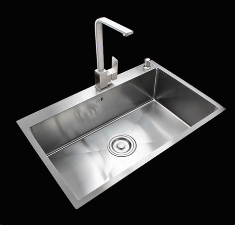 stainless steel single bowl kitchen sink stainless steel kitchen sink no faucet single bowl 15868
