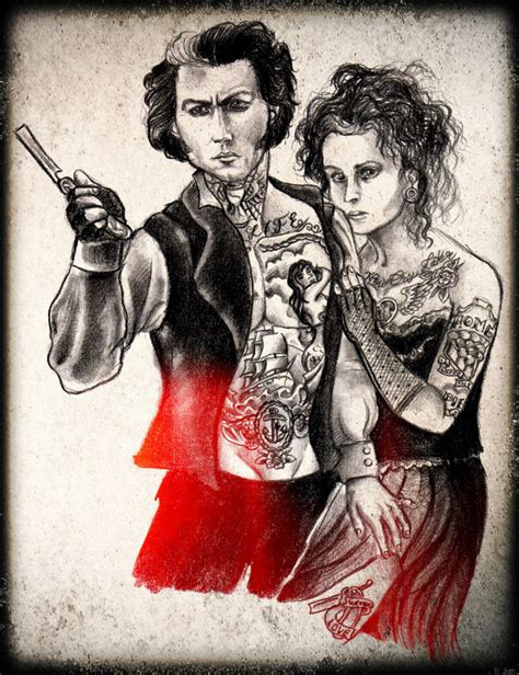 sweeney todd tattoo sweeney todd by rossburtonpoe on deviantart