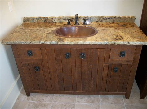 Bathroom Vanity Cabinets With Tops Granite Countertops Edges Maple Raised Panel Vanity With Granite Counter Tops