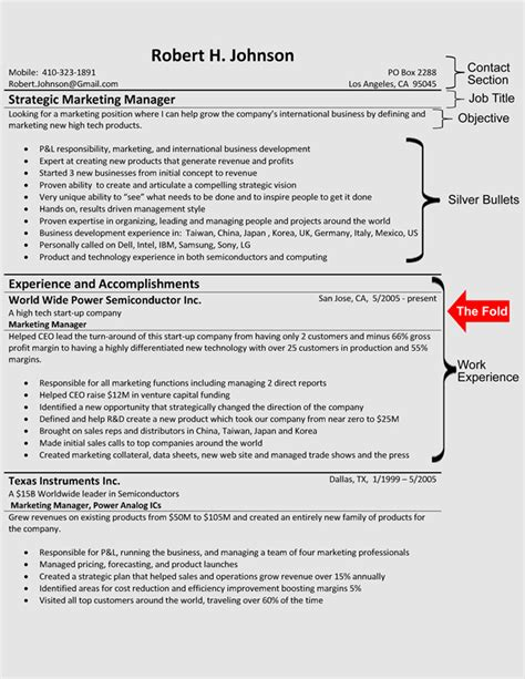 The Hybrid Resume Format Hybrid Resume Template