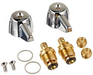 central brass 2 handle tub shower faucet